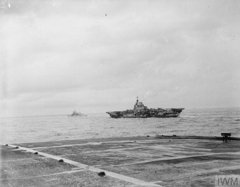 Royal Navy Madagascar 24th April- 10th May, HMS Formidable.