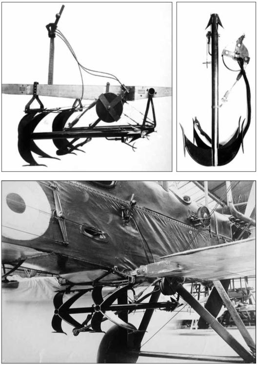 Anti Zeppelin Weapon Grapnel