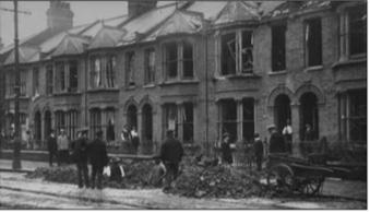Zeppelin Bomb Damage