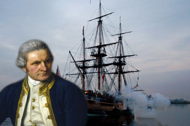 On This Day: 26th August 1768 James Cook Sails off on HMS Endeavour.