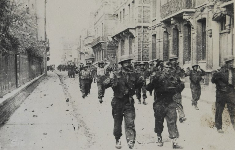 On This Day: 19th August 1942 British prisoners marching through Dieppe