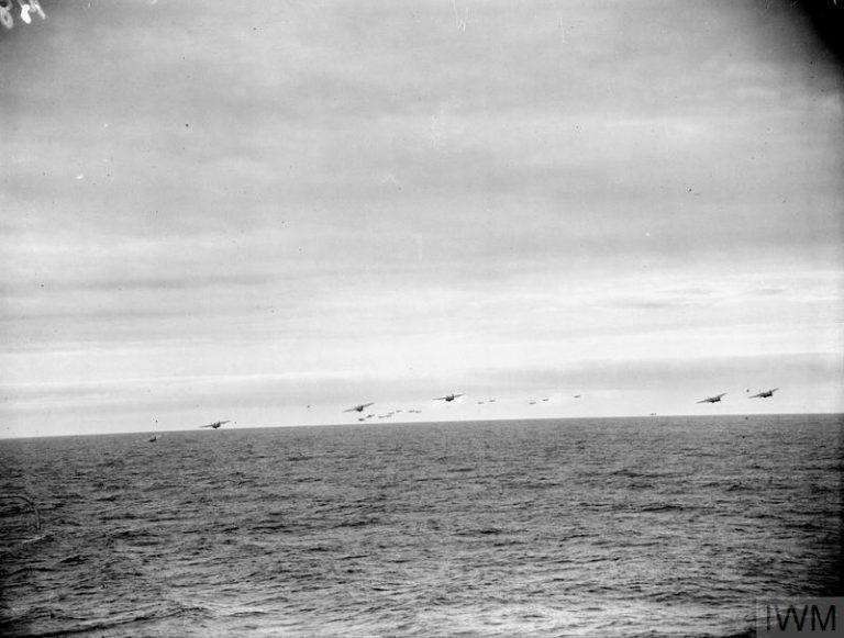 On This Day: 22nd August 1944: Fleet Air Arm planes launch attacks the Tirpitz