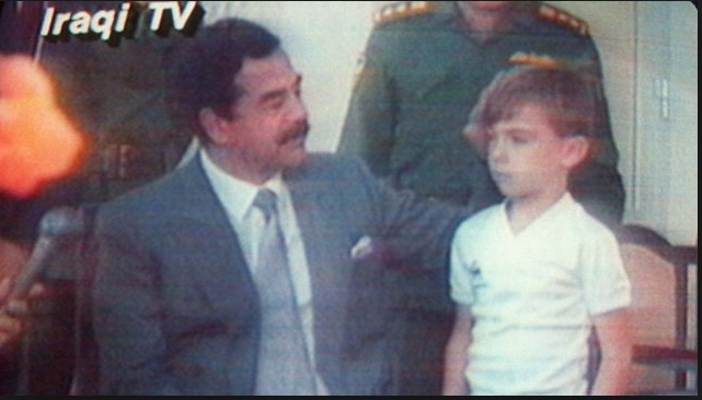 On This Day: 23rd August 1990 : Saddam Hussein parades TV hostages