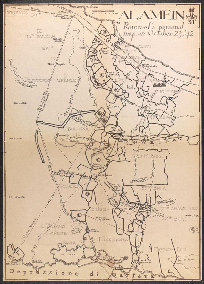 Rommel's Map