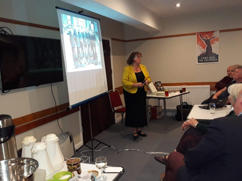 Dr Helen Fry Speaking to BMMHS