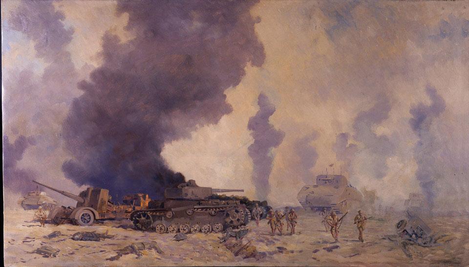 El Alamein Painting
