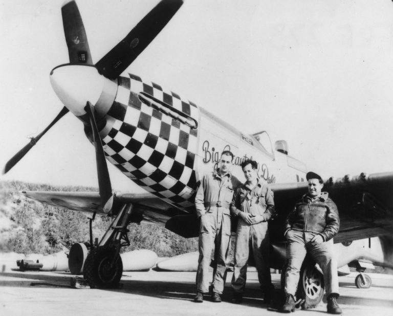 Fighter Ace John Landers
