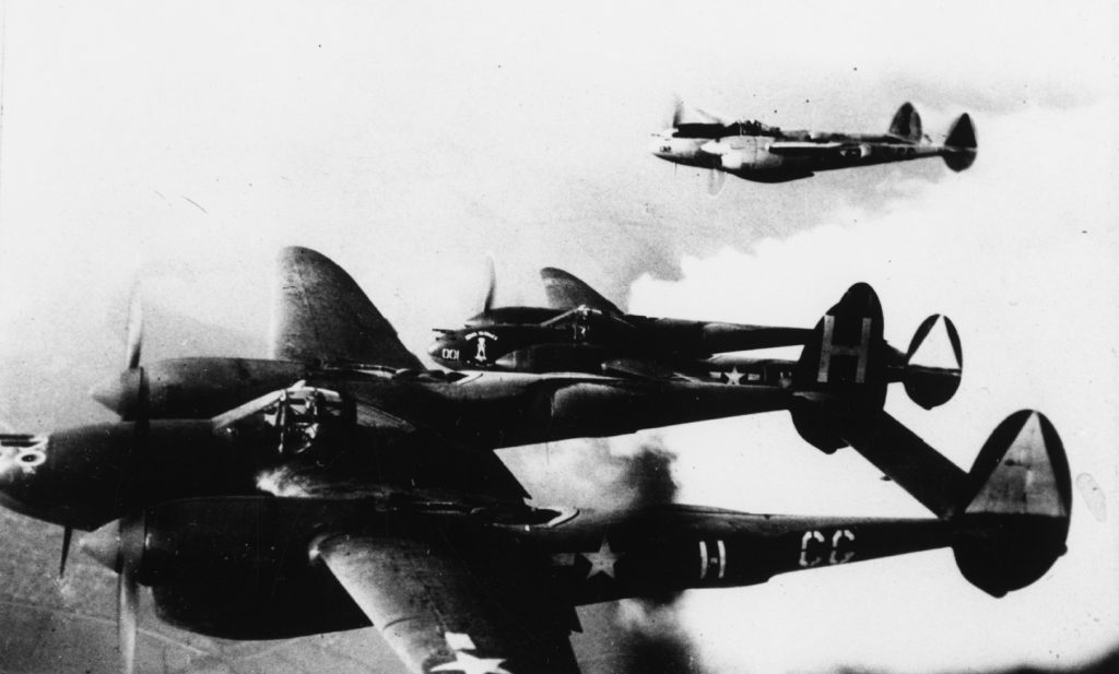 P-38 Lightnings 55th Fighter Group