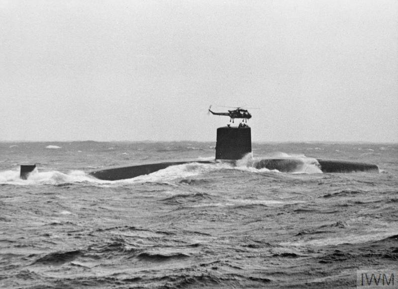 Cold War Royal Navy Submarine operations