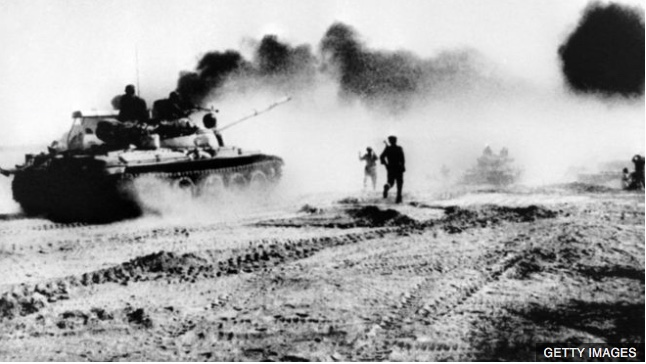On This Day: 22nd September 1980: War breaks out between Iran and Iraq Three weeks of border clashes between Iran and Iraq appear to have finally erupted into all-out war.  Iraq has bombed several Iranian air and military supply bases, including Tehran's international airport. The rise in hostilities comes after Iraq tore up a 1975 border agreement with Iran over sovereignty of the Shatt al-Arab waterway.