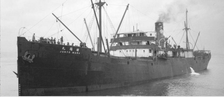 On This Day: 18th September The sinking of the Junyo Maru on 18 September 1944 was one of the deadliest maritime disasters of the Second World War, killing over 5,000 POWs and romushas. Here she is pictured in 1933, courtesy of City of Vancouver archives. CVA 447-2345.