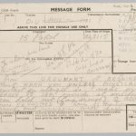 On This Day: 24th September 1944: Signal from Major-General Roy Urquhart to Lieutenant-General Frederick Browning, Urquhart, commanding 1st Airborne Division, outlines his desperate situation and requests immediate assistance in strength from the commander of 1st British Airborne Corps. By this date, 1st Airborne was short of supplies and pinched into a small area around Oosterbeek. https://collection.nam.ac.uk/detail.php?acc=1994-06-201-2  From a collection of papers relating to Operation MARKET GARDEN, the surrender of Bergen, and reports on concentration camps, 1945. © NAM. 1994-06-201-2