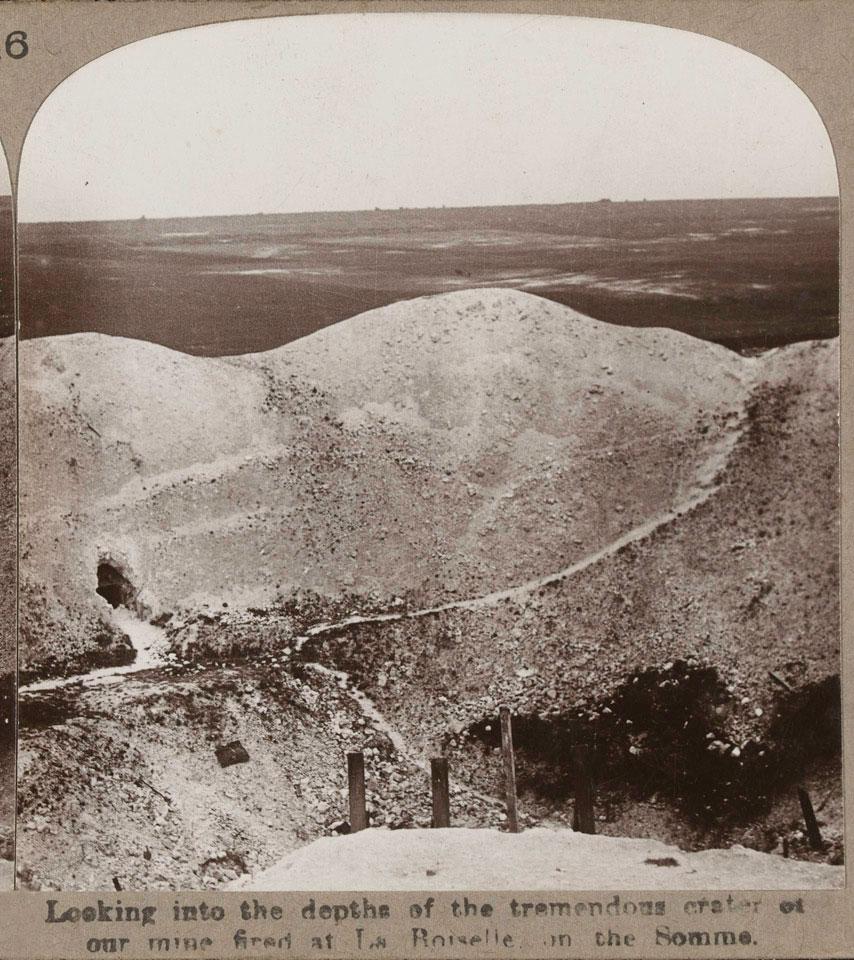 La Boiselle Mine Somme