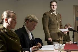 The story of a remarkable murder court-martial