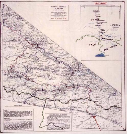 Helen Fry MI9 Silk Map