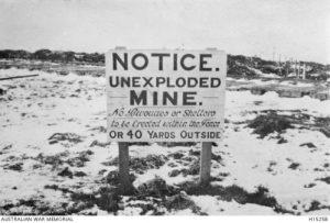 Underground Warfare in WW1