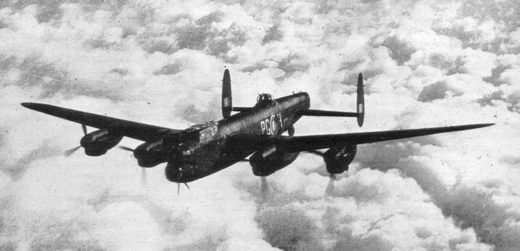 Avro Lancaster III 619 Squadron