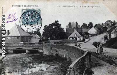 The target - Ribemont Bridge