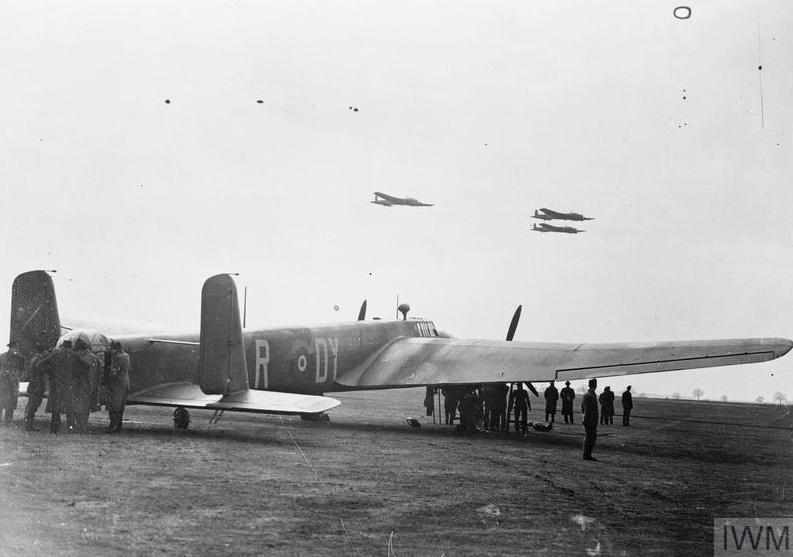 Whitley V RAF Driffield