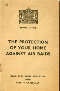 the Protection of your home against air raids