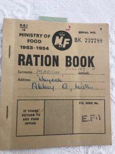 Nan's Ration Book