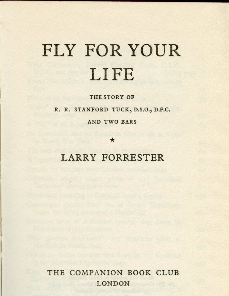 Fly For Your Life