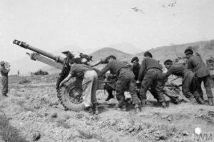 Royal Artillery Gunner Korea