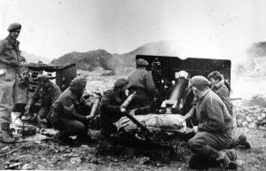 25pdr Korean War