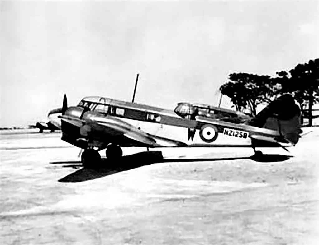 Jim Tilley RNZAF Airspeed Oxford