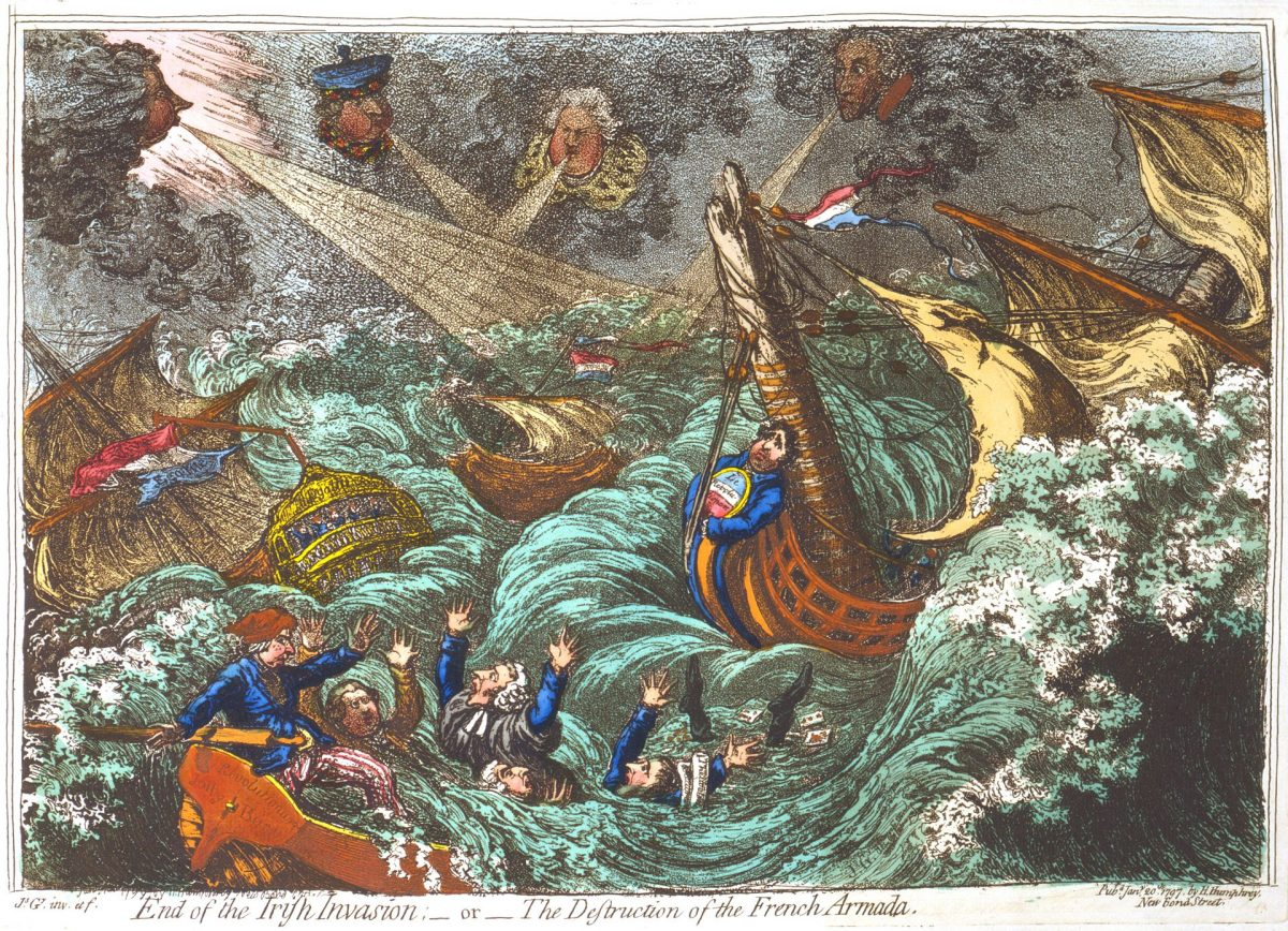 The French Invasion of Britain in 1797 – Zoom talk by Patrick Mercer Friday 5th Feb 7:00pm