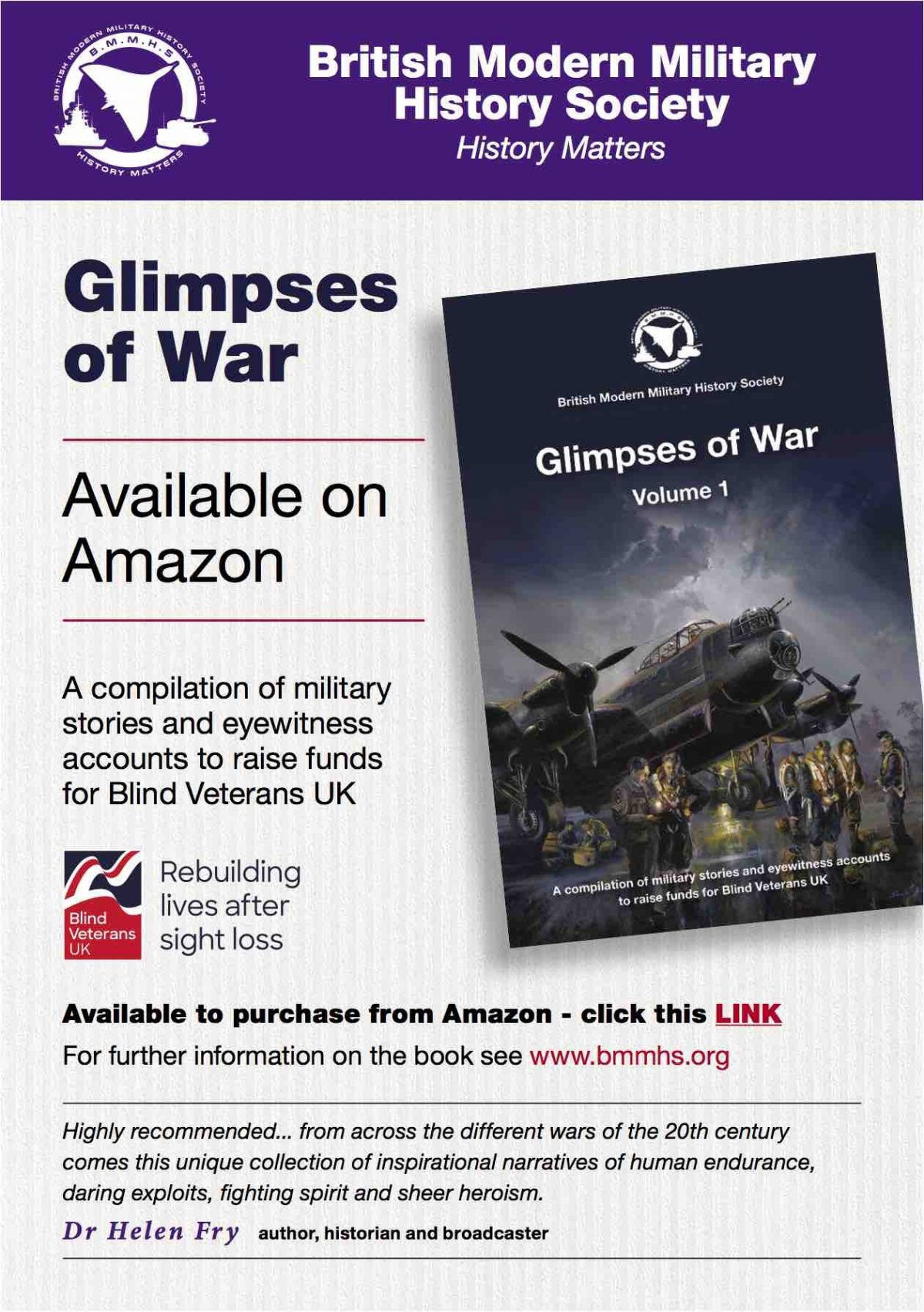 Glimpses of War –Kindle version now available onAmazon