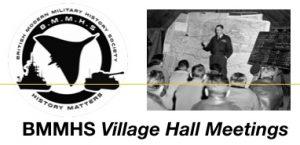 BMMHS Village Hall Meetings Logo