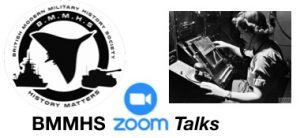 BMMHS Zoom Talks Logo