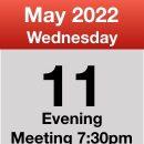 Meeting 11th May 2022