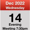 meeting December 2022
