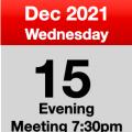 Meeting 15th Dec 2021