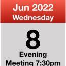 Meeting 8th June 2022