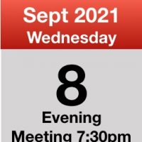 Meeting 8th Sept 2021