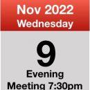 Meeting Nov 2022