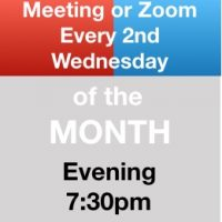 Meeting or Zoom Every 2nd Wednesday
