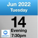Zoom 14th June 2022